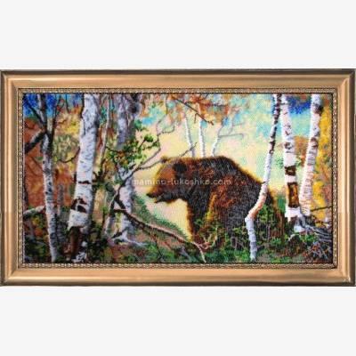 Набор для вышивки бисером Медведь