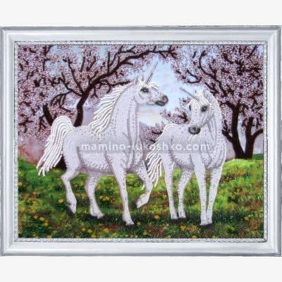 Набор для вышивки бисером В райском саду
