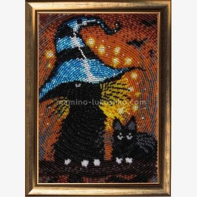 Набор для вышивки бисером Котята