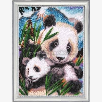 Набор для вышивки бисером Панды