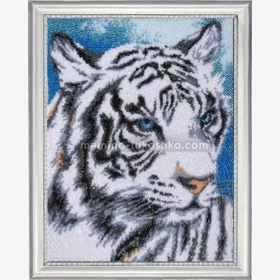 Набор для вышивки бисером Белый тигр