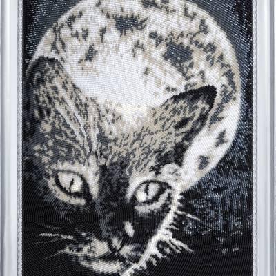 фото: картина для вышивки бисером Полнолуние
