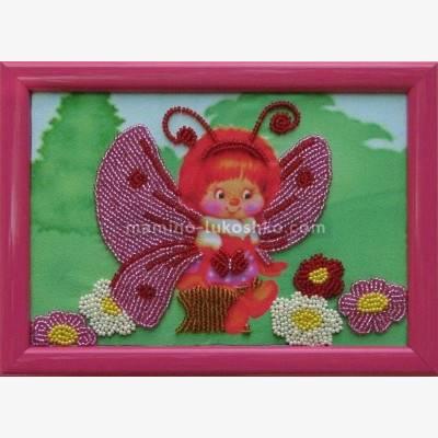 Схема для вышивки бисером Бабочка