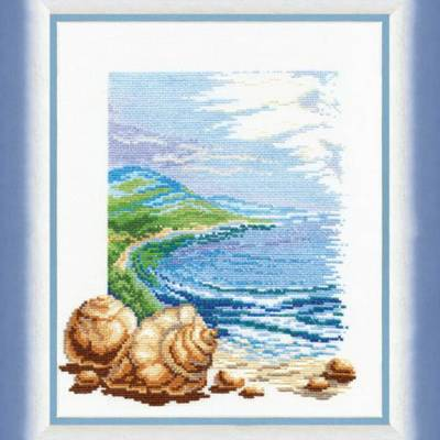 Набор для вышивки крестом &quot,Морское спокойствие&quot,