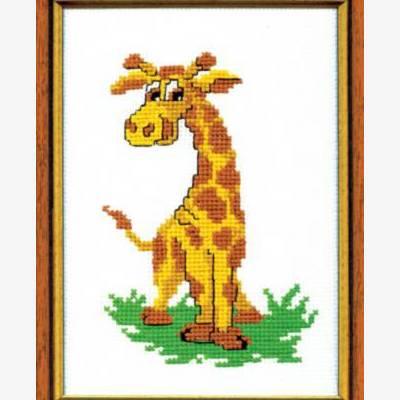 Набор для вышивки крестом &quot,Жираф&quot,