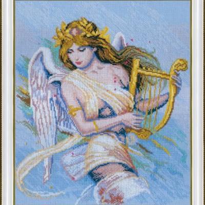 Набор для вышивки крестом По мотивам К. Банга Муза-ангел-музыкант