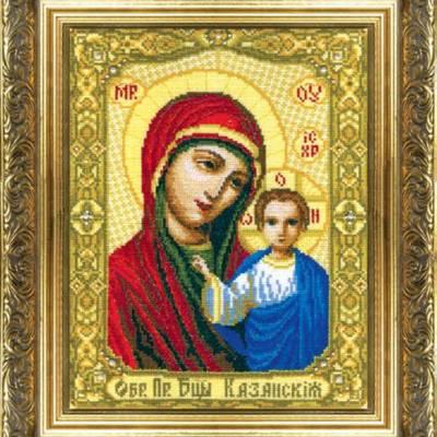 Набор для вышивки крестом Икона Божьей Матери Казанская