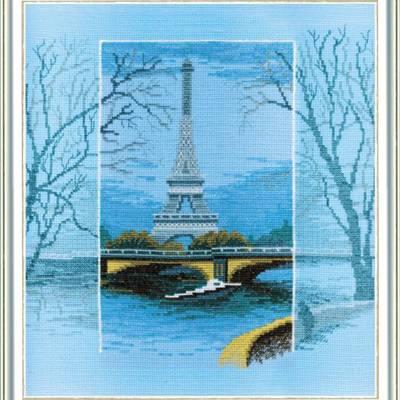 Набор для вышивки крестом Увидеть Париж...