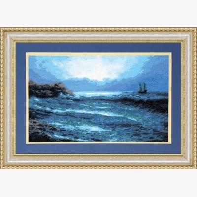 Набор для вышивки крестом Синее море