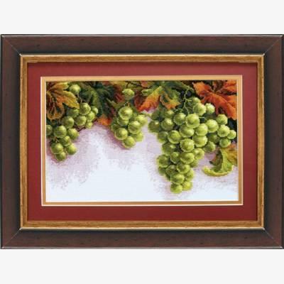 Набор для вышивки крестом &quot,Грозди винограда