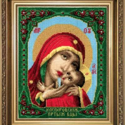 Набор для вышивки крестом Образ Пресвятой Богородицы Касперовской