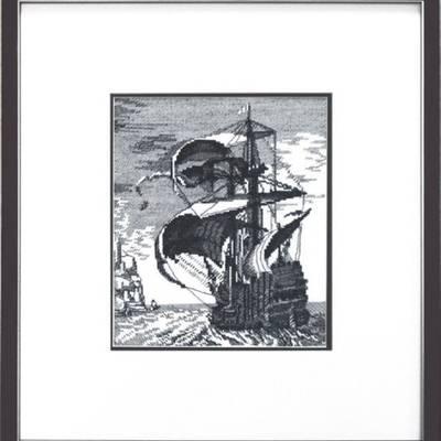 Набор для вышивки крестом &quot,Корабль
