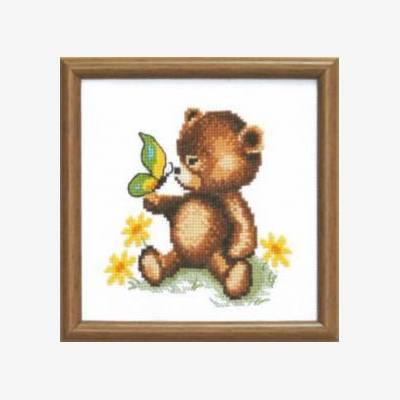 Набор для вышивки крестом Медвежонок
