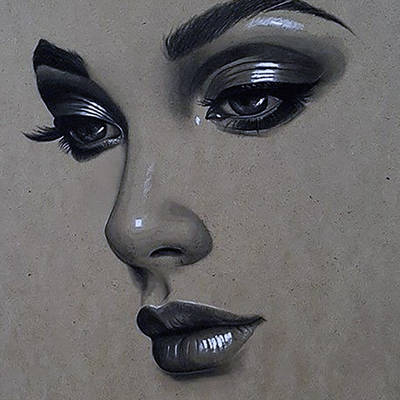 фото: картина для раскрашивания по номерам, Портрет