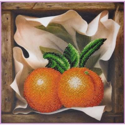 Набор для вышивки бисером Апельсин