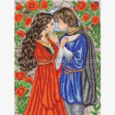Схема для вышивки бисером Ромео и Джульетта