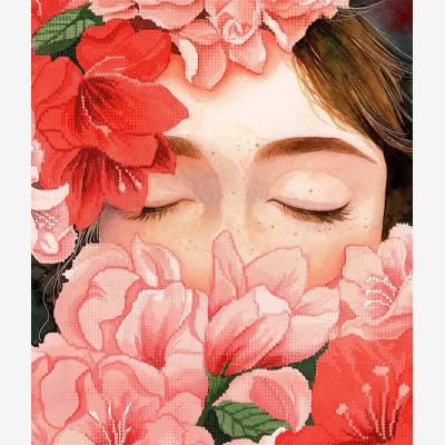 Схема для вышивки бисером Цветочное настроение