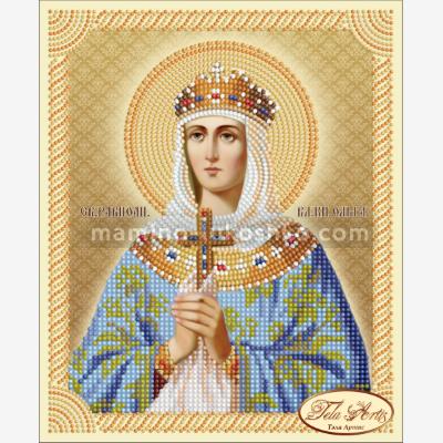 Схема для вышивки бисером Святая Равноапостольная Великая Княгиня Ольга