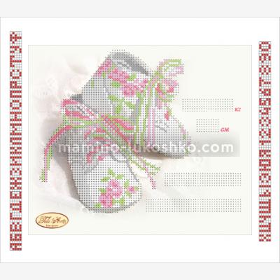 Схема для вышивки бисером Детская метрика Принцесса ТМ-050-1 ... 1f44971c8178f