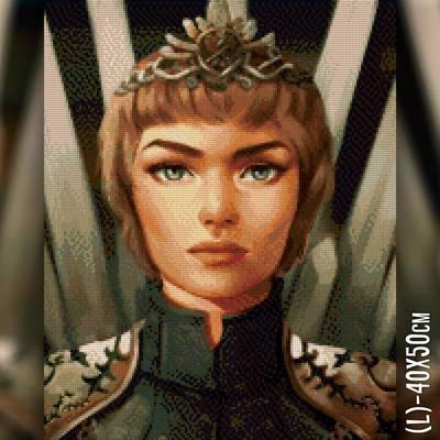фото: картина в алмазной технике Королева Серсея