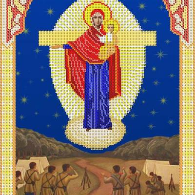 Схема для вышивки бисером Икона Божией Матери Августовская