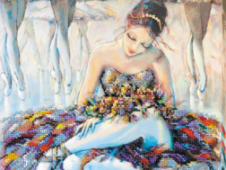 Набор для вышивки картины Абрис Арт Балерина
