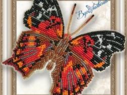 фото: бабочка для вышивки на пластиковой канве, ТМ Вдохновение