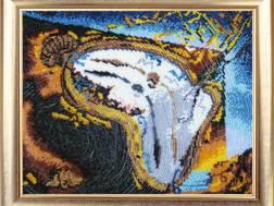 фото: картина для вышивки бисером, набор Время течет