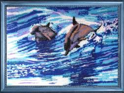 Фото картины для вышивания бисером Butterfly