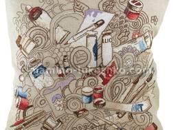 фото подушки для вышивки нитками Чаривна мить