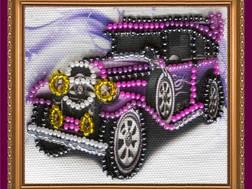фото: магнит для вышивки бисером Абрис Арт, Автомобиль