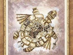 фото картины для вышивки крестом Черепаха от Чаривной мити