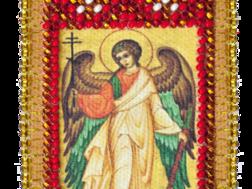 фото: икона-оберег для вышивания бисером Ангел хранитель Абрис Арт
