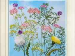 фото: картина для вышивки в стиле Rococo Луговые травы
