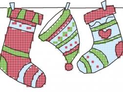 фото: картинка для вышивки на одежде Шапочка