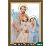 Схема для вышивки бисером Святое семейство
