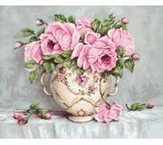 Набор для вышивки крестом  Розовые розы