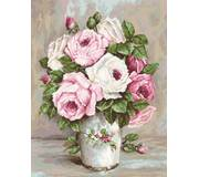 Набор для вышивки гобелена Смешанные розы