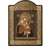 """Набор для вышивки бисером в рамке-киоте Образ Прсв. Богородицы """"Отчаянных Единая Надежда"""""""