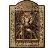 Набор для вышивки бисером в рамке-киоте Св. Вмц. Ирина Македонская