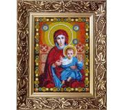Набор для вышивки бисером Богородица Леушинская