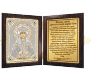 Набор с рамкой-складнем для вышивки бисером Св. Равноап. Царица Елена