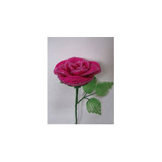 Мастер-класс по созданию розы в технике бисероплетения