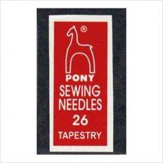 Иглы для вышивания Pony №26