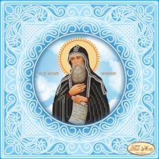 Схема для вышивки бисером Святой Преподобный Антоний Печерский