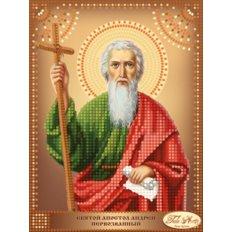 Схема для вышивки бисером Святой Апостол Андрей Первозванный
