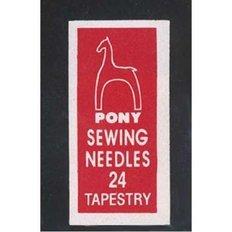 Иглы для вышивания Pony №24