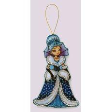 Набор для создания игрушки из фетра Снежная королева