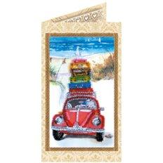 Набор для вышивки бисером открытка Отпуск у моря