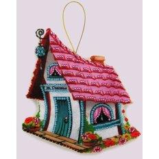 Набор для создания игрушки из фетра Домик счастья